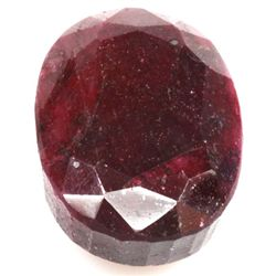 Natural African Ruby 110.34ctw  Oval Stone