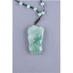 Chinese Carved Jade Figure of Buddha Certificate