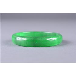 Chinese Emerald Green Jade bangle