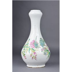Chinese 18th Yongzheng Period Famille Rose Vase
