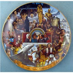 Memorable People and Events 1977 Collectors Plate Ghent