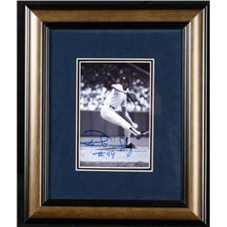 Framed Signed New York Yankees Ron Guidry 5x7 Photo