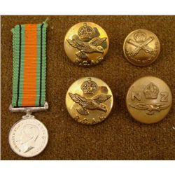 BRITISH NEW ZEALAND CANADIAN MILITARY LOT