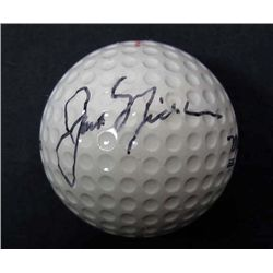 JACK NICKLAUS SIGNED GOLF BALL W/ COA