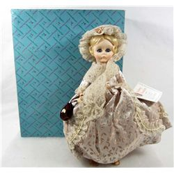 "VINTAGE MADAME ALEXANDER ""MARTHA WASHINGTON"" DOLL IN ORIGINAL BOX"