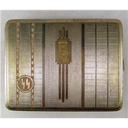 GERMAN NAZI SS CIGARETTE CASE