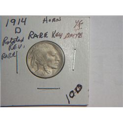 1914 D BUFFALO NICKEL