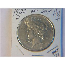 1923-D PEACE DOLLAR
