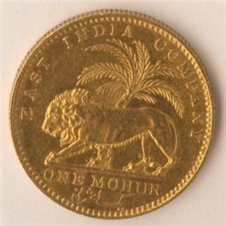 East India Company Mohur 1841