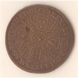 GB 1693 ½ Crown