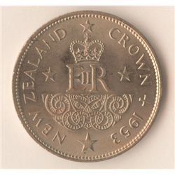 New Zealand 1953 Crown
