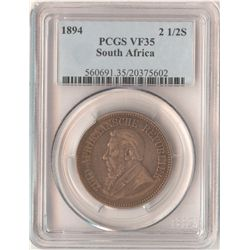 South Africa ½ Crown 1894