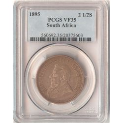 South Africa ½ Crown 1895