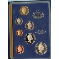 1981, 1982 , 1983 , 1884 Proof Sets