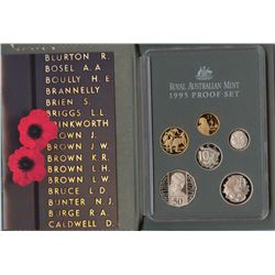 1993, 1994, 1995 Proof Sets