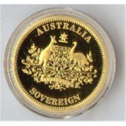 Australia 2009 Sovereign, Sydney Mint