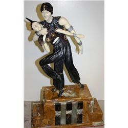 Persian Dancer - Bronze and Ivory Sculpture by Chiparus