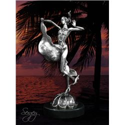 Exotic Dancer - Limited Edition Real Silver Sculpture by Sergey
