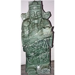 Siberian Jade Large Statue  The God of Happiness 