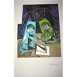 Limited Edition Picasso - Children Writing - Collection Domaine Picasso
