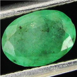 0.27ct Green Colombian Emerald Oval (GEM-44256D)