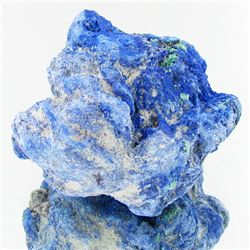 245ct All Azurite Crystal Cluster No Base Material (MIN-000450)