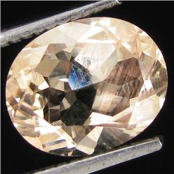 1.60ct Clear Champagne Oregon Sunstone Oval (GEM-31019)
