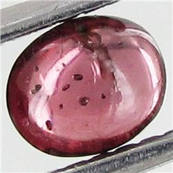 0.52ct Pink Tourmaline Cabochon Oval (GEM-39737)