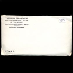 1971 US Mint Coin Set UNOPENED (COI-2971)