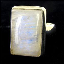 64.81twc Moonstone Sterling Ring (JEW-2786)