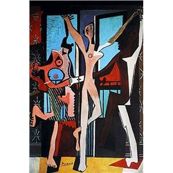Limited Edition Picasso - The Dance - Collection Domaine Picasso