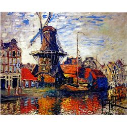 Windmill by Monet