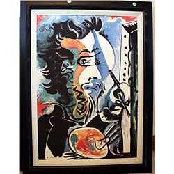 Picasso Limited Edition on canvas