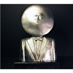 Bustamante Limited Edition.999 Silver Sculpture -Sun King