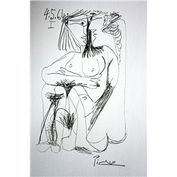 Picasso Original Lithographs - Hand Pulled and Signed