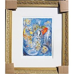 Bella and the Red Horse  - Chagall - Limited Edition