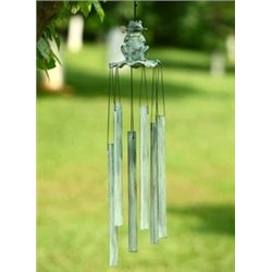 Romeo Frog Tube Wind Chime