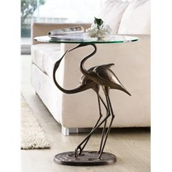 Courting Cranes Side Table