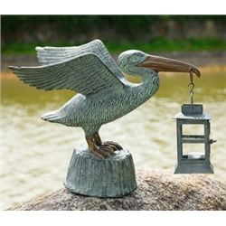 Pelican Lantern Candle Holder