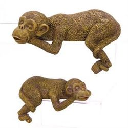 Set Monkey Shelf Sitters