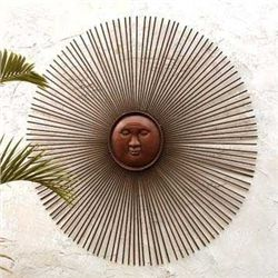 Sunburst Wall Plaque