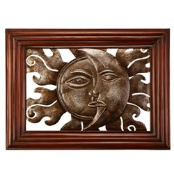 Sun & Moon Wall Sculpture