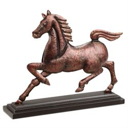 Trotting Horse Sculpture