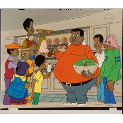 Fat Albert & Friends Hand Painted Ltd Ed Animation Cel