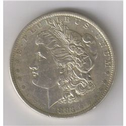 1883-O MS++ CHOICE BU TOP-100 MORGAN SILVER DOLLAR. MINT ERRORS