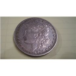 1892-S MORGAN SILVER DOLLAR,XF