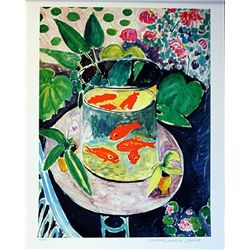 Limited Edition Matisse- The Goldfish - Collection Domaine Matisse