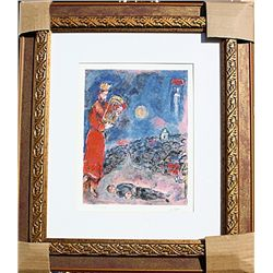 King David Artist  - Chagall - Limited Edition
