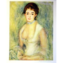 Limited Edition Renoir- Madame Harriet - Collection Domaine Renoir