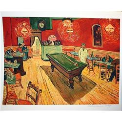 Limited Edition Van Gogh- Rec Room - Collection Domaine Van Gogh
